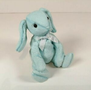 Treasured Pals Small Blue Rabbit Ornament 'PATSY' 2000 B/D 14th Aug 1999