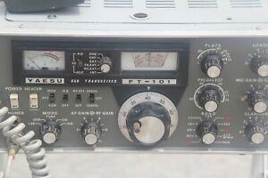 Yaesu Ft 101 Ssb Lsb Cw Am Transceiver Ham Radio Hf Bands Amateur Manual Ft101 Ebay