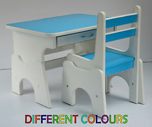 Image Is Loading Desk And Chair Set Wood School Drawing Homework