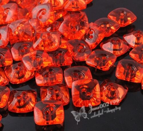 E366 UPICK 16 mm Nouveau Plastique Boutons Sewing notions Crafts Accessories 60pcs