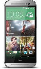 NEW Htc One M8 4G LTE 32gb Glacier Silver (Verizon) Android Smartphone