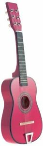 Star-Kids-Acoustic-Toy-Guitar-23-Inches-Color-Hot-Pink