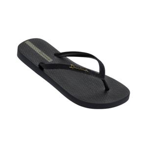 Womens Ipanema Loletta II Black Sandal Flip Flop
