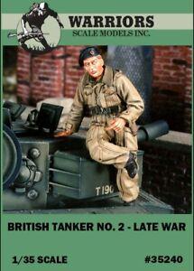 Warriors-1-35-British-Tanker-No-2-Late-War-Resin-Figure-Kit-35240