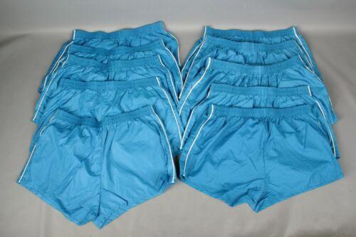 Vtg Men/'s Lot of 10 70s 80s NOS Blue Athletic Short Shorts W Stripe L 50s #7266L