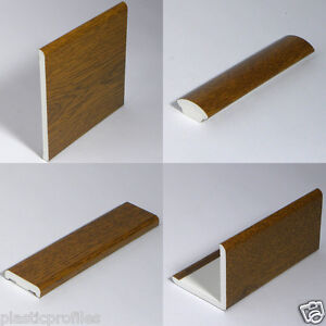 light oak plastic window trims upvc angles beading various