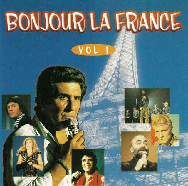 BONJOUR LA FRANCE - VOLUME 1 / 2 CD-SET - TOP-ZUSTAND