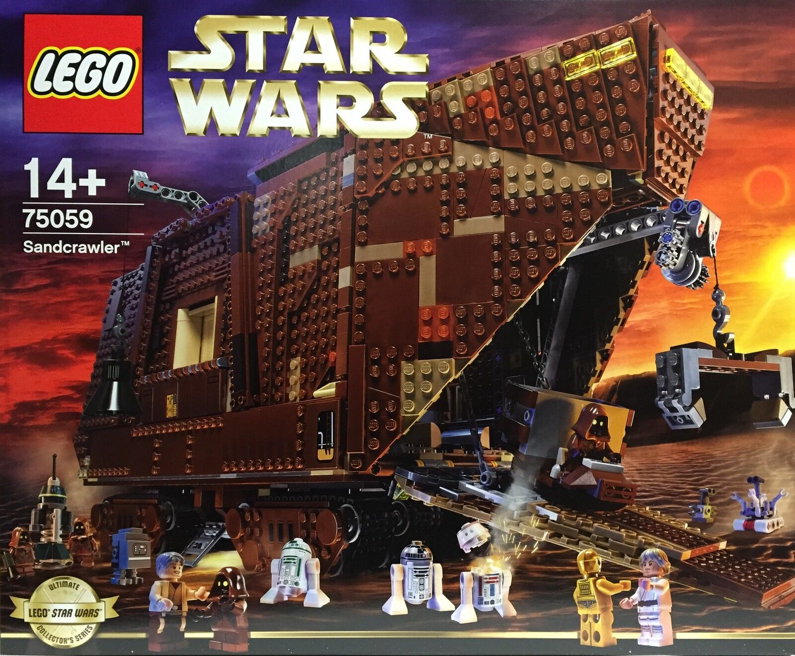 LEGO 75059 Star Wars Sandcrawler Ultimate Collectors Series UCS Neu & OVP