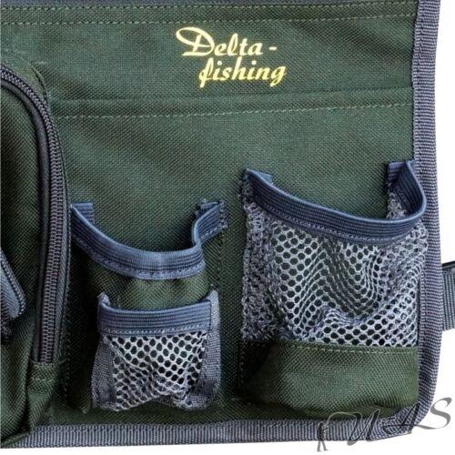 Delta Fishing Seitentasche für Karpfenliege Liegen Tasche Brillenfach Kva