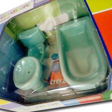 Bozart The Kaleidoscope Doll House Bathroom Set Tub Sink Toilet 1:12 Scale 30027