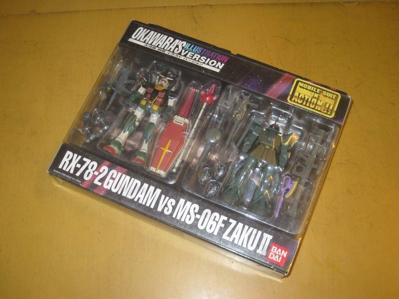 MSIA Gundam RX-78-2 VS MS-06F Zaku II Okawara Special Limited(JP) Box C9 last