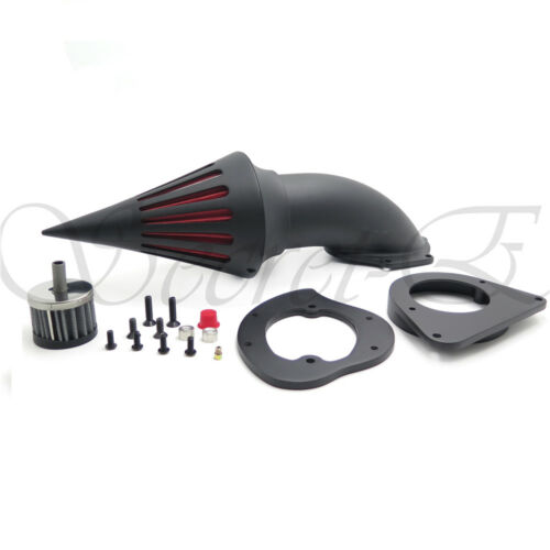Spike Air Intake cleaner Kits Filter For Kawasaki Vulcan 800 Classic /'95-/'12 Bla