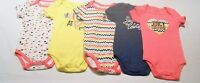 Juicy Couture Baby Girl Clothes 0-3 3-6 6-9 Months 5 Piece Set 5 Bodysuits