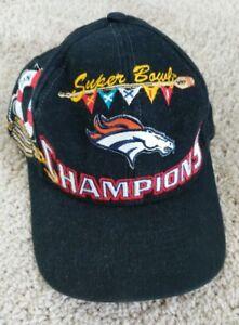 Denver Broncos Super Bowl XXXII 32 Snap Back Hat Cap Football NFL ... 0e25498db