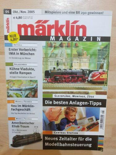 Märklin Magazin 2005  Ausgabe 01//02//03//04//05//06//07//08//09//10//11//12