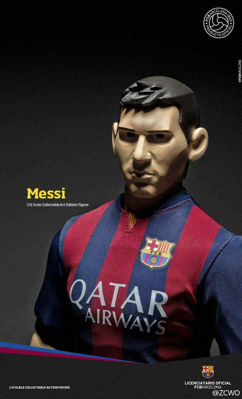 1 6 FCBarcelona Messi (Art Edition)