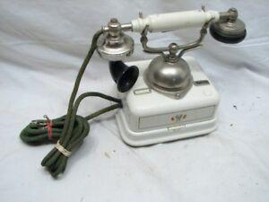 Early-European-Ringer-Desk-Telephone-Kjobenhavns-Telefon-Aktieselskab-Phone