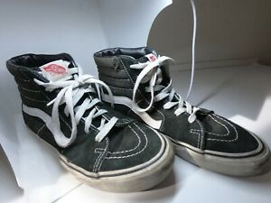 Vans Off The Wall High Top Skate Shoes Black Women's Size 6