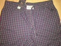 BNWT Jack Wills  Langton Check Cotton Loungepant. Size L
