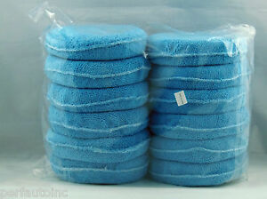 MICROFIBER WAX APPLICATOR PRE WAX APP PADS SM ARNOLD DETAIL 86-790 12 PACK NEW