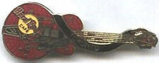Hard Rock Cafe TORONTO 1998 Cochran's Red '57 Gretsch Dead Rocker Guitar PIN