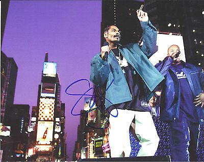 Music Discreet Rapper Snoop Dogg Signed 8x10 Photo W/coa West Coast California Autographs-original