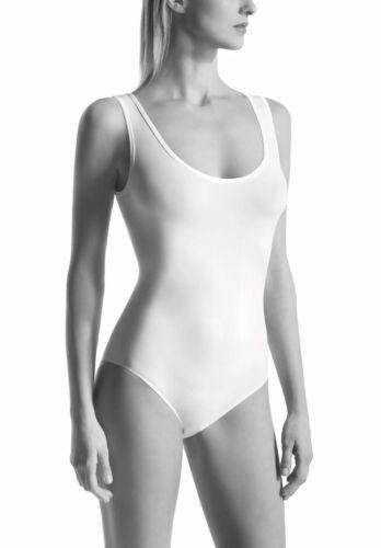 round neck Oroblu Dolcevita Bodysuit seamless sleeveless SAFESKIN treatment