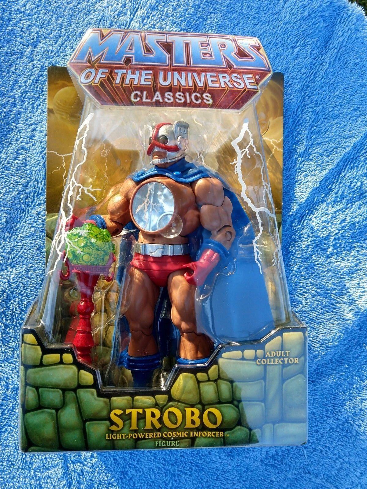 MOTUC, STROBO figure  Masters of the Universe Classics, MOC, NEW  in Mailer