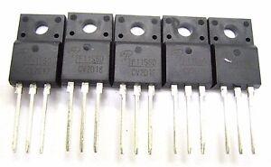 5PCS-AOTF11S60-TF11S60-F11S60-MOSFET-600V-N-CH-MOSFET-11A-TO-220F