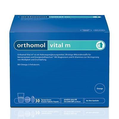 ORTHOMOL Vital M 30 Granulat Kapseln Kombi Orange PZN 01319838 TOPANGEBOT