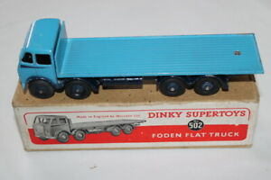 Dinky-Toys-502-1st-Cab-Foden-Flat-truck