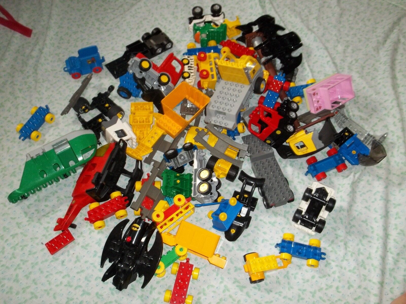 Lego Lot of 8 lbs of Duplo Vehilces Bulk Bulk Bulk Pieces Parts p491m c76341