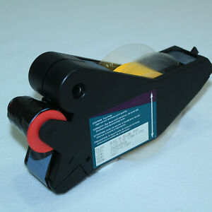 "New Brady Label Maker Supply Tape Cartridge Black on Clear B580 1.125/"" x 90/'"