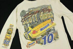 Vintage-Y2K-Nesquik-Jeff-Green-NASCAR-Racing-Long-Sleeve-T-Shirt-Mens-L