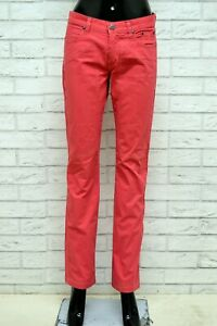 Pantalone-JECKERSON-Donna-Taglia-Size-28-Pants-Woman-Jeans-Gamba-Dritta-Cotone
