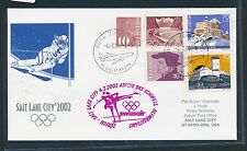 97703) SR ab Zürich Schweiz 4.2.2002, Olympiade SF to Salt Lake City, SoU