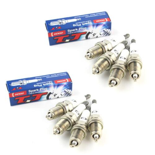 8x Fits Honda Jazz GD 1.4 Genuine Denso Twin Tip TT Spark Plugs