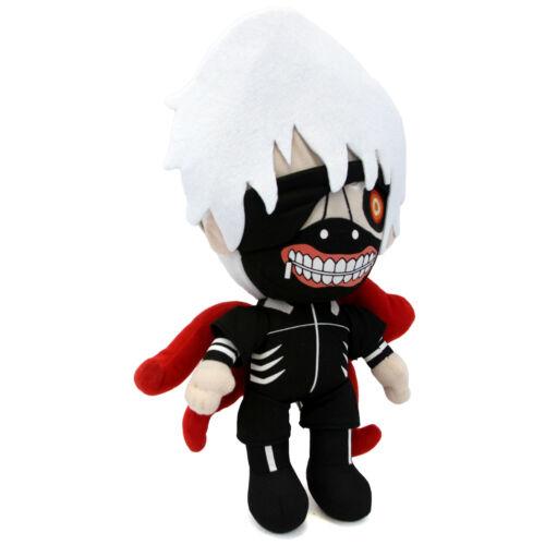 "Doll Tokyo Ghoul 13/"" Plush GHOUL FORM KANEKI KEN with KAGUNE New Tokyo Guru"