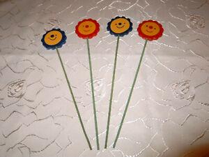 48 Fleurs Connecteur Connecteur Pour Fleurs En Bois Soleil Ca 25 Cm En Couleur Kih19-afficher Le Titre D'origine