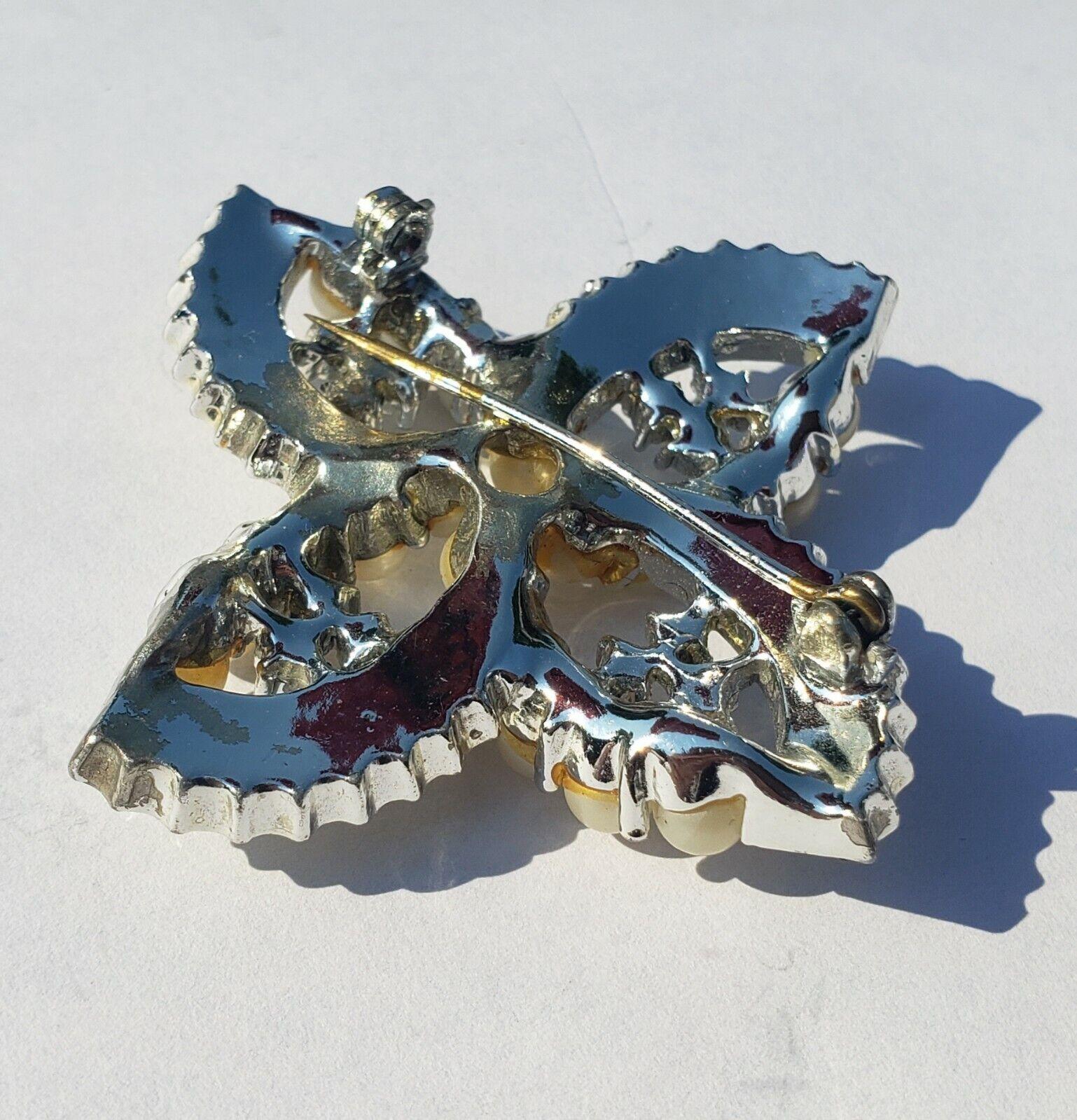 Monet Aurora Borealis Rhinestone Stud  Earrings w… - image 3