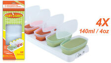 Baby Cubes Food Breastmilk  4oz Comida Leche de bebe