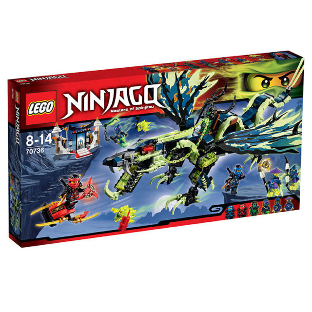 LEGO NINJAGO Angriff des Moro-Drachens (70736) NEU OVP