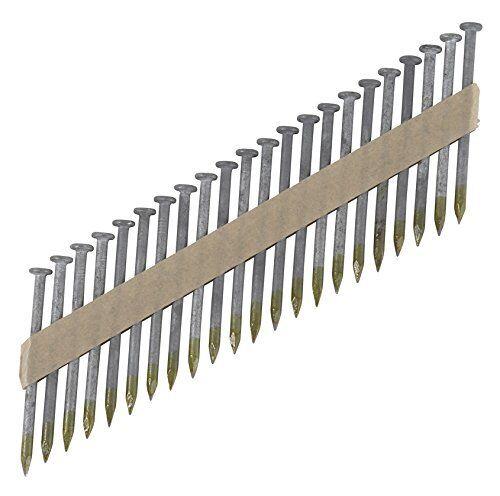 "Hitachi 17134 1-1//2x.148/"" Smooth Shank Framing Galvanized Nails NR65AK 3000 Case"
