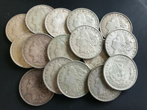 ONE-1921-MORGAN-SILVER-DOLLAR-90-SILVER-GOOD-OR-BETTER-CIRCULATED-FAST-S-amp-H