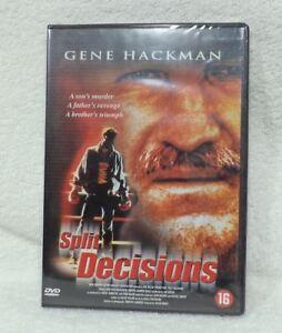 DVD-SPLIT-DECISIONS-van-Gene-Hackman-nog-nieuw-in-gesealde-verpakking