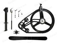 Gasbike Snow Bike Conversion Kit - Ski Attachment ,66/80cc Gas Motorized Bicycle