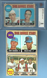 1968 Topps Baseball complete set Nm - NMMT and better PSA SGC Nolan Ryan Rookie