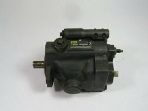 Parker PAVC-1610R2-10 Hydraulic Piston Pump 1000PSI USED