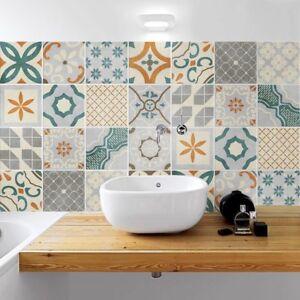 PS00168 Adesivi murali in pvc per piastrelle per bagno e cucina ...