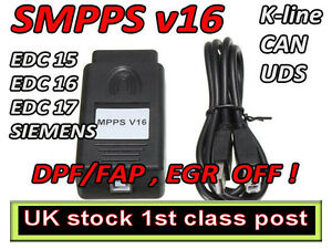 Details about MPPS V16 ECU Flasher Chip Tuning Remapping Tool for EDC15  EDC16 EDC17 MED9 x ME7